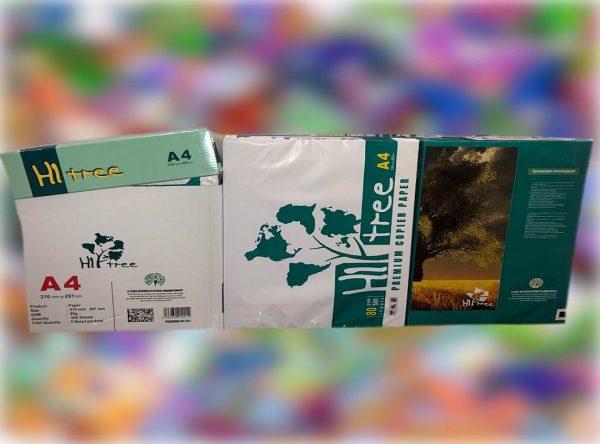 خرید کاغذ a4 برند Hi tree