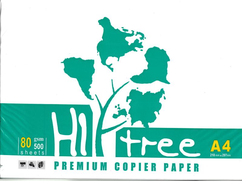 ویژگی کاغذ A4 برند Hi Tree (های تیری)