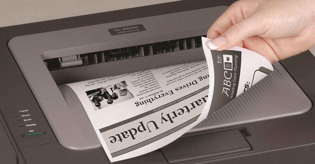 چاپ دو طرفه کاغذ